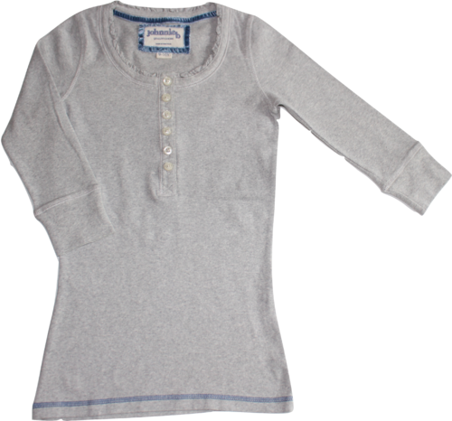 johnnie b Mini Boden Shirt grau 128/134/140