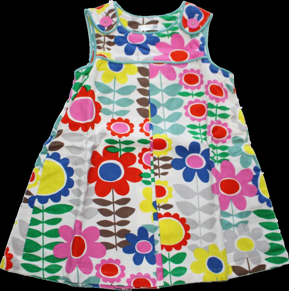 Mini Boden Baby Boden Kleid Cord Blumen Größe 9/9/9 9   9 Monate